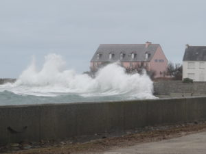 Hotel Ar Men dans la tempête